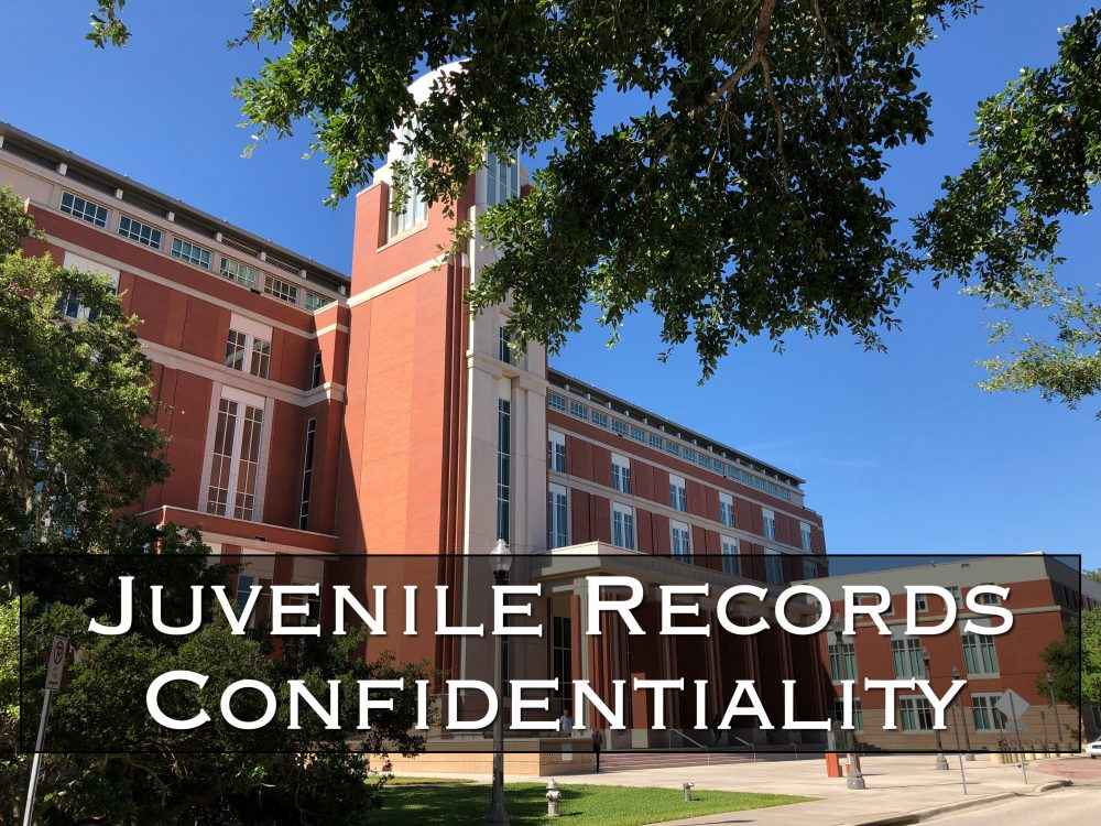 juvenile records confidentiality