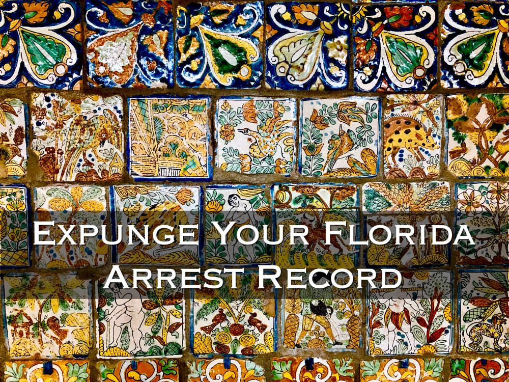 expunge your florida arrest record