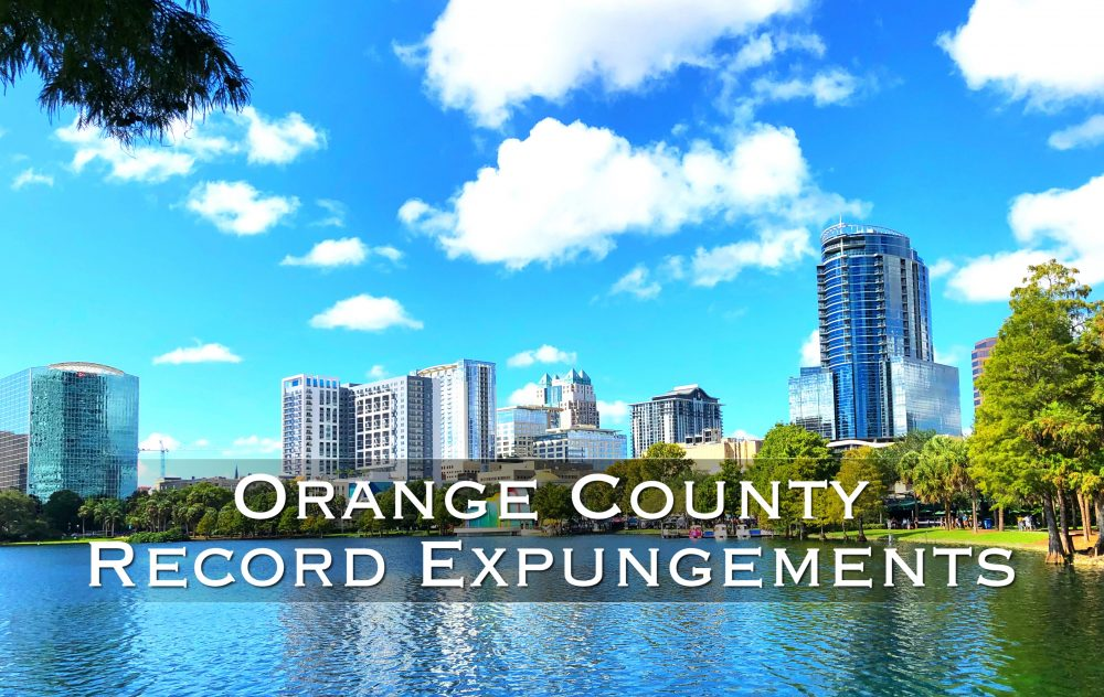 Orange County Florida Record Expungements