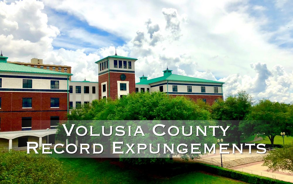 volusia county record expungements