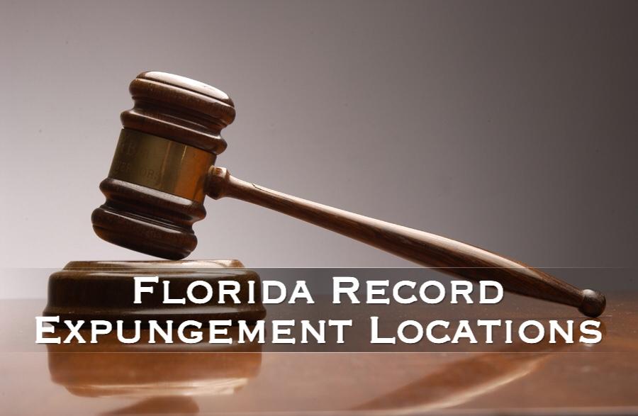 florida record expungement locations