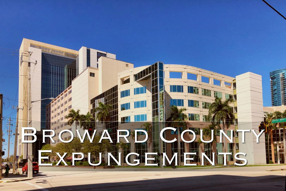 Broward County Expungements
