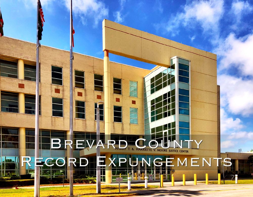 Brevard County Record Expungements
