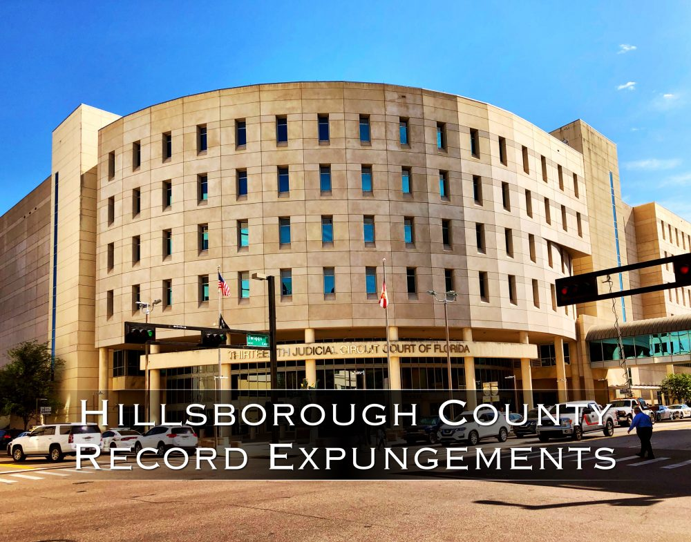 Hillsborough County Record Expungements