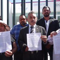 Ramón Montalvo y vecinos de Valle de Chalco exigen que se abra Centro de Salud
