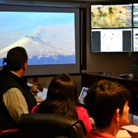 Analizan especialistas  actividad del Popocatépetl y actualizan información sobre enjambre sísmico en Michoacán