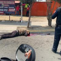 Disparan contra un hombre cuando esperaba el transporte público