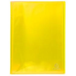 porte vues 100 vues iderama jaune
