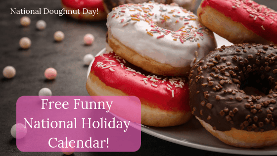funny national holiday calendar