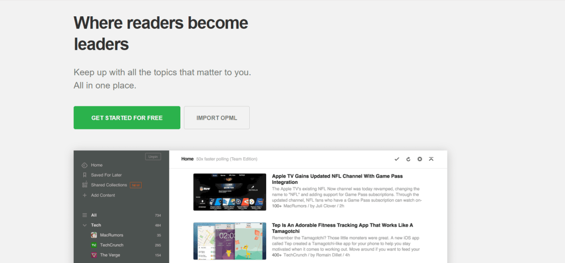 feedly how to