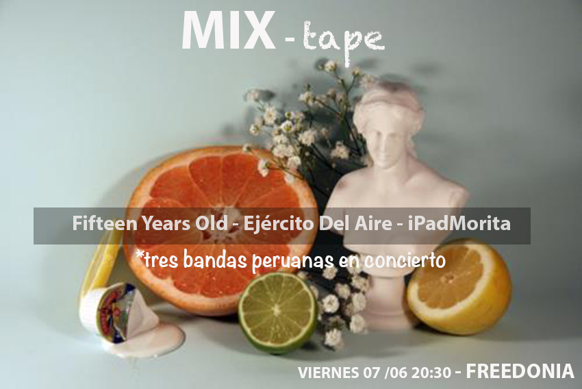 """Mixtape"", concert in Freedonia (Raval)"
