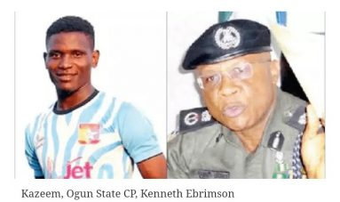 One feared Dead as Police , Residents Clash in Sagamu over Football's Death