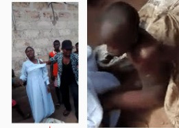 Mother ties up her 10-year-old son in a sack for four days over allegations he is possessed with an evil spirit (video)