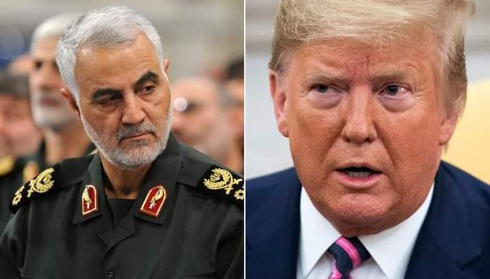 Iran Issues Warrant Of Arrest On United States President, Donald Trump, Over Killing Of Top General