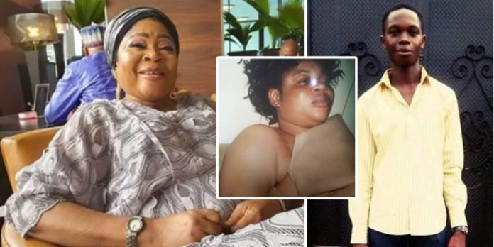 Police Arrest 19-yr-old Scammer Who Attempted To Blackmail Queen Salawa Abeni With Neaked Photos