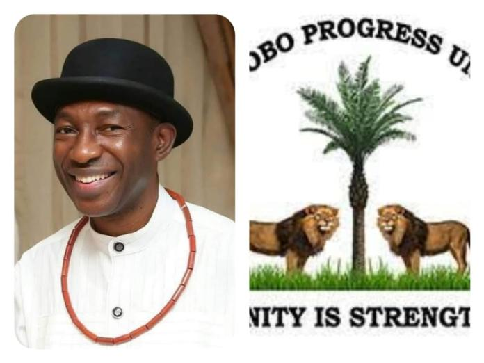 You logo , Urhobo Progress Union logo Bernard Okumagba