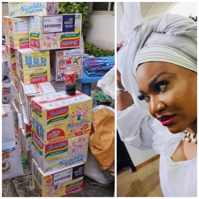 You be Professional Looter Nigerians Blast Lagos Lawmaker who Diverted CACOVID palliatives and Converted it into Birthday souvenirs.