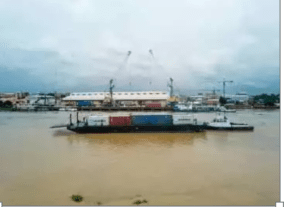 Jubilation Trai as the First Set of Container Bodies Arrive in Onitsha Seaport After 40 Years of waiting [ Photos ]