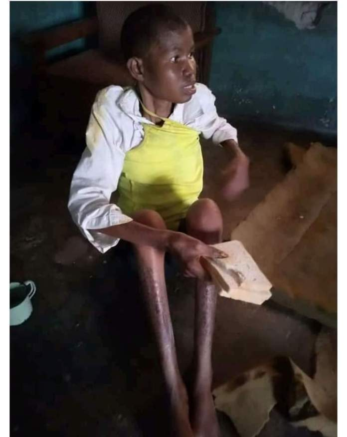 Human Rights Activist Rescues Delta Woman Accused of Witchcraft and Caged for 3 years by her Husband.