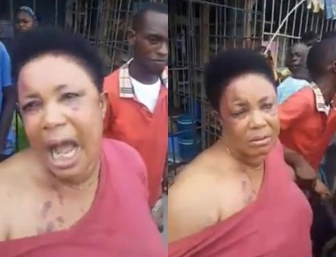 Woman Allegedly Returns the Manhood she stole in Aba (Video)