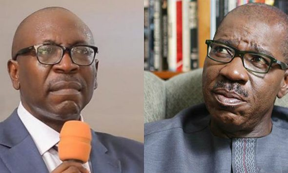 Ize-Iyamu Blasts Obaseki, Your Silence over kidnapping, Insecurity No Longer Golden