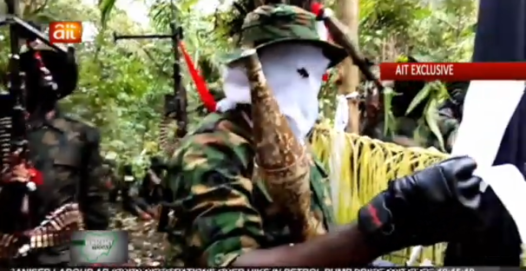 Video: Niger Delta Militants Send Powerful Message to President Buhari