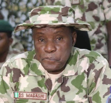 ''Don't be afraid of bullet. If you are not meant to die by bullet, it will never kill you''- Defence Minister, Bashir Magashi