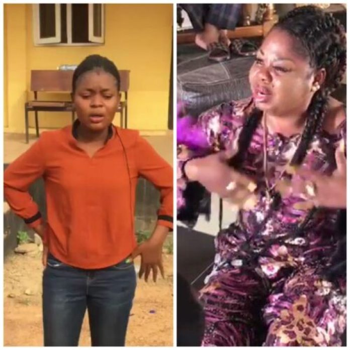 Water From Human Corpse: OOU Female Student plead For Mercy From Food Vendor (Videos)