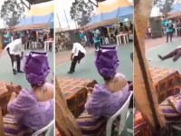 Video: How Community Leader Slumps, Dies While Dancing At Rivers Wedding