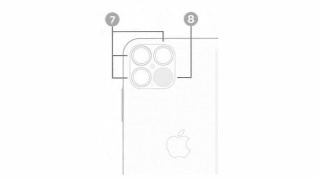 The iOS 14 illustration confirming the LiDAR