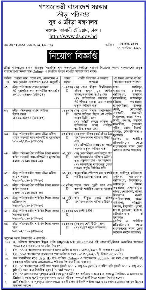 DS Teletalk BD 2020 - ds.teletalk.com.bd