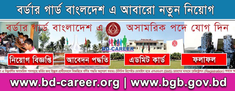 Border Guard Bangladesh BGB Job Circular 2021- bgb.gov.bd