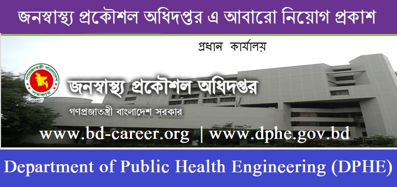 DPHE Job Circular 2021 - dphe.gov.bd