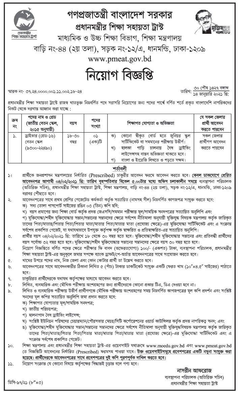 pmeat-job-circular-2021