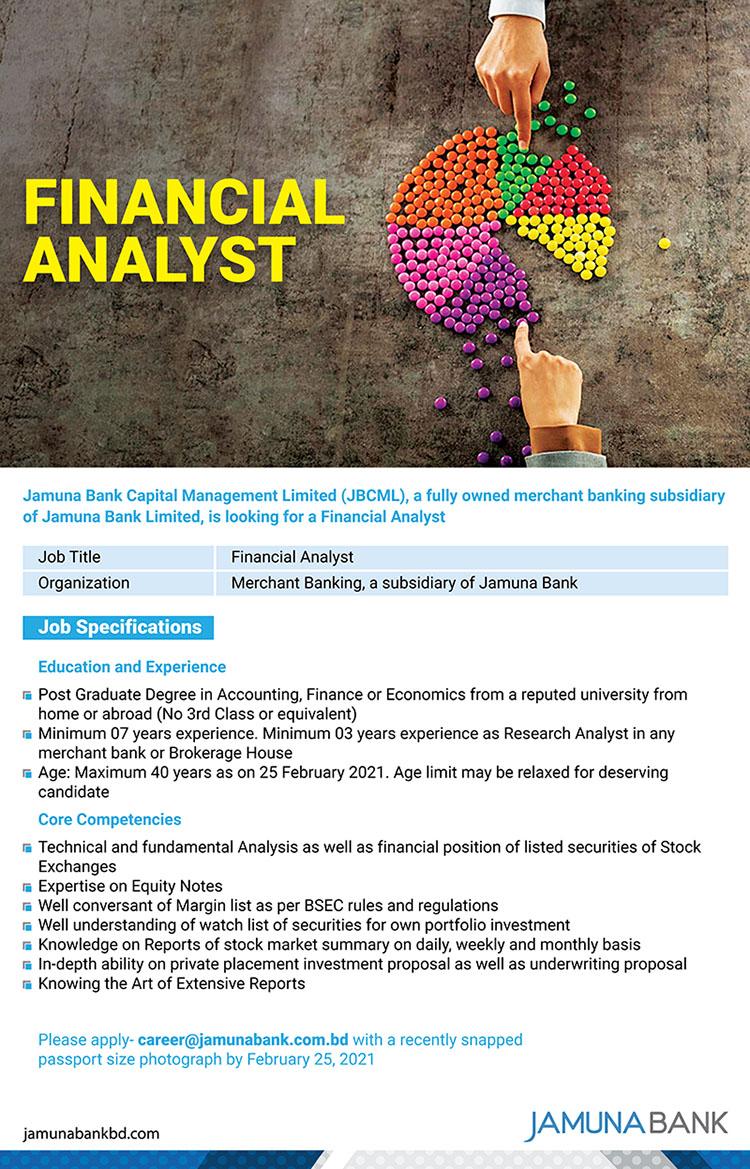 Jamuna Bank job circular 2021