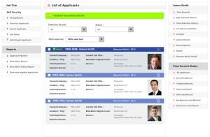 job board software List of Applicant