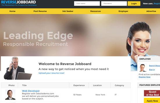 Reverse Job Board Themes