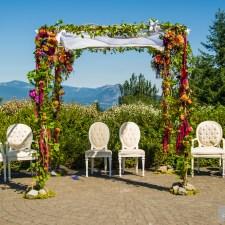 Columbia Gorge Wedding Planner, Indian Wedding Mandap