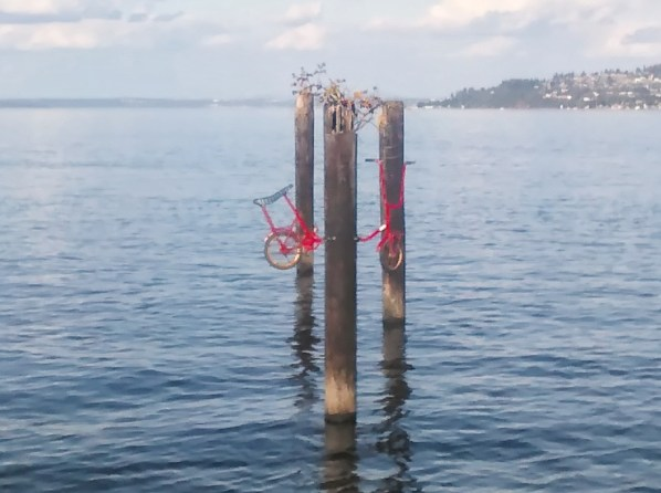 A bit of whimsy on the Tacoma waterfront. Photo: Shawn Granton