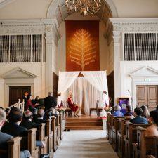 Eliot Center Chapel First Unitarian Church wedding