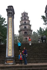 Stairway to the pagoda