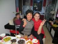 Mrs. Li and I
