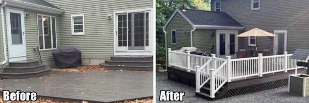 deck addition remodel