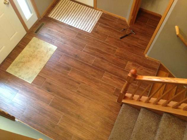 flooring in entryway
