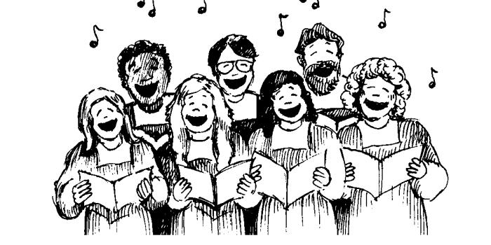 Dochóru – wstąp!, czyli siedem powodów, dla którychwarto zostać chórzystą wkościele