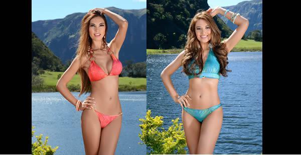 Miss Residentes Bolivia 2015, Jazmín Durán y Srta. Residentes Bolivia 2015, Dayanna Grageda