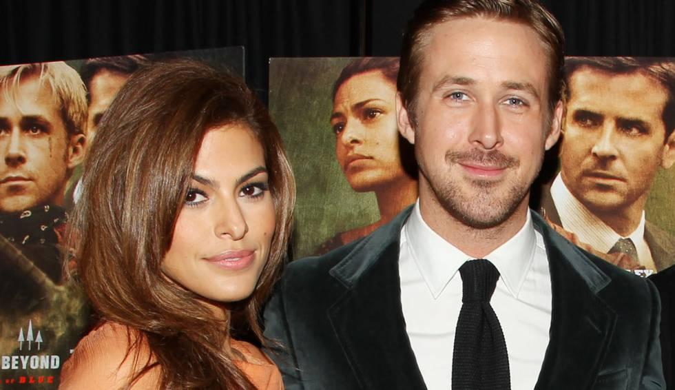 Eva Mendes y Ryan Gosling.