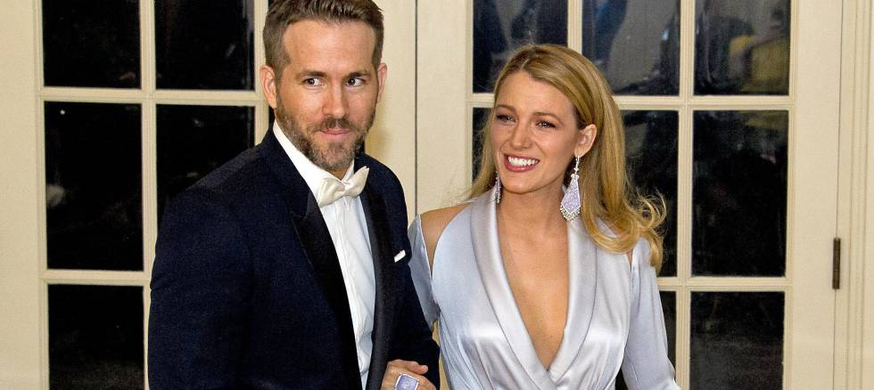 Ryan Reynolds y Blake Livel.