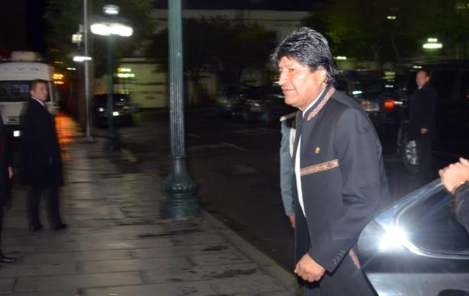 El presidente Morales viaja a Nueva York y a Ecuador