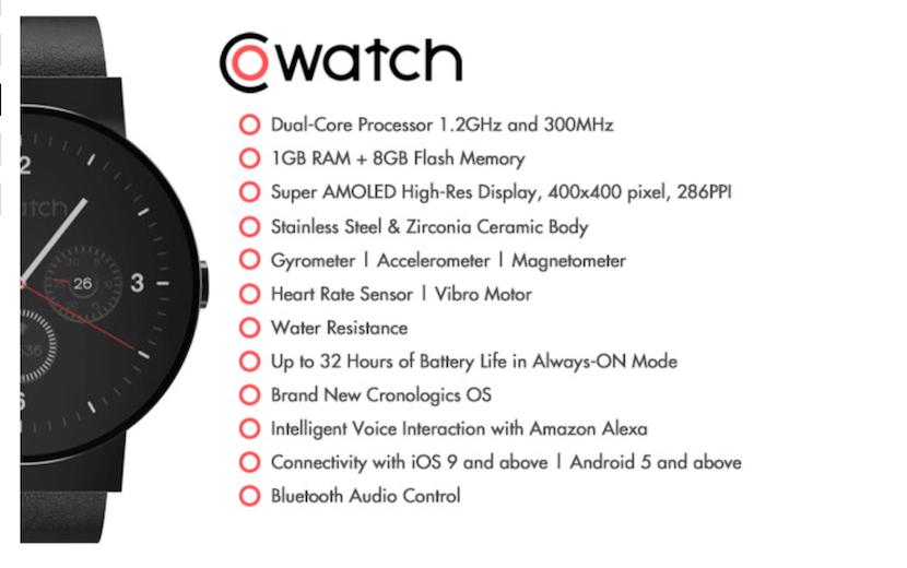 co-watch-características